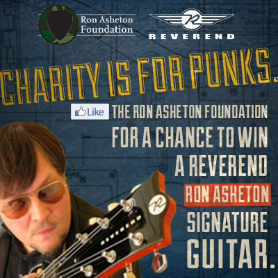Win a Reverend Ron Asheton Signature Guitar.