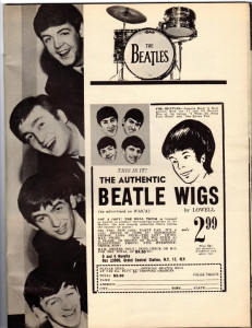 The Beatles Authentic Wigs