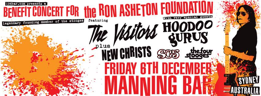 Benefit Concert for the Ron Asheton Foundation - Sydney, Australia