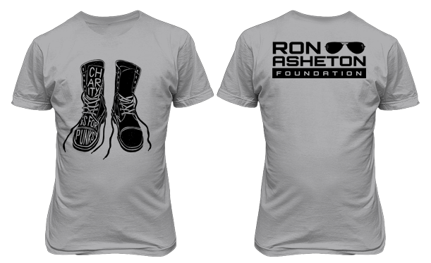 Ash Grey Boots T-Shirt